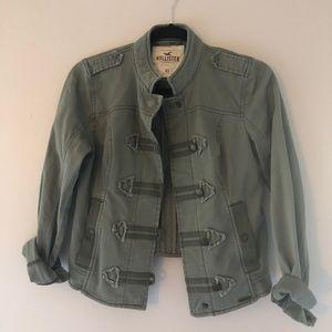 Military Inspired Khaki Green Jacket